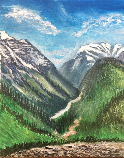 'Beautiful Valley View'