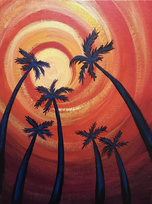 'Palm Sunset'