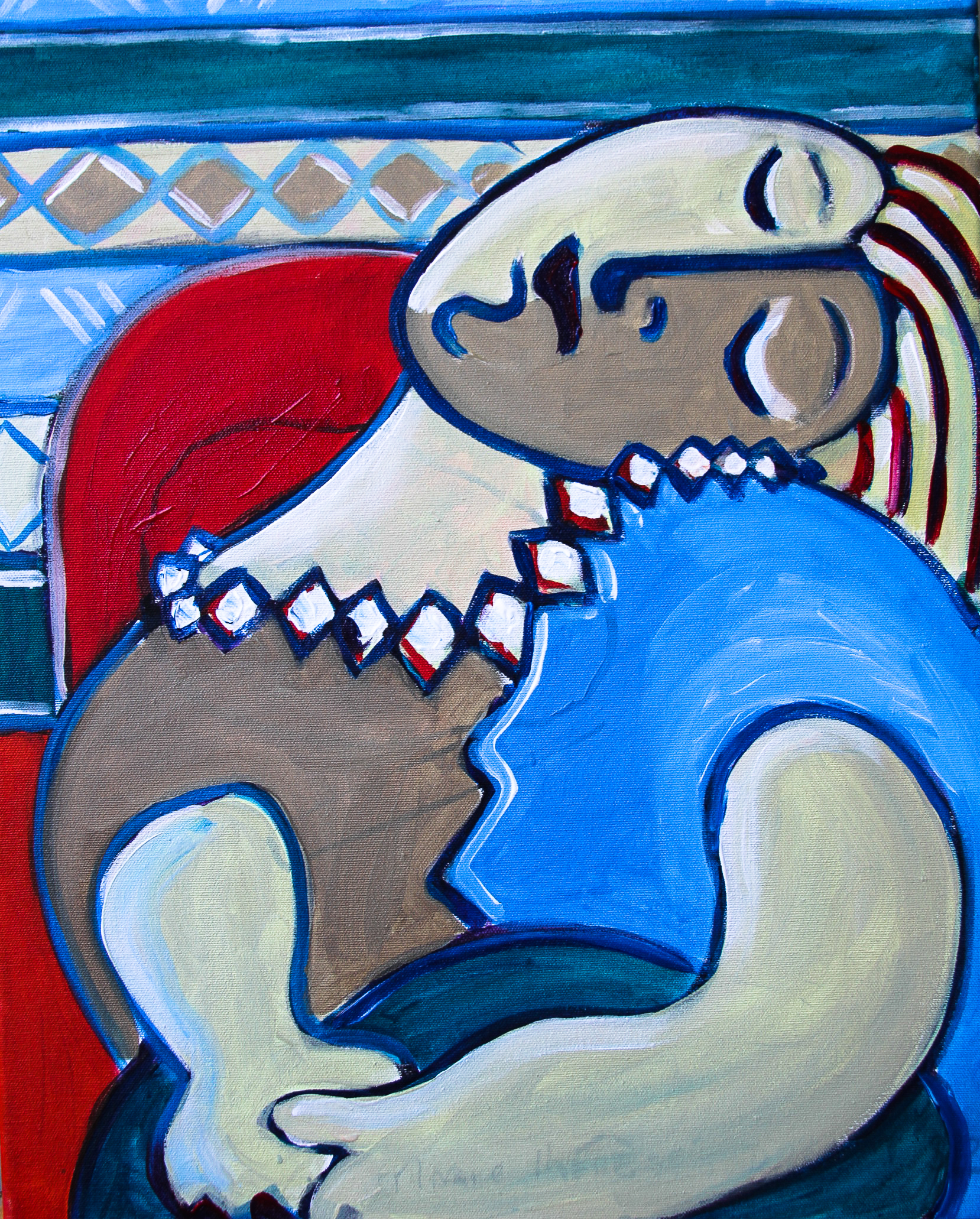 'Marie Therese in Picasso Sleep 1932'