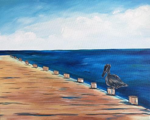 Painting & Brews - 'Pelican Pier'