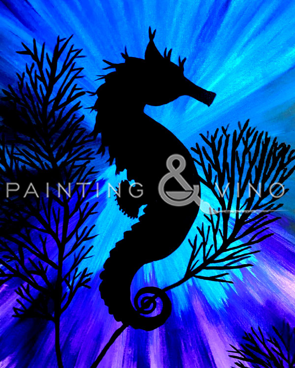 Easy Seahorse Outdoors with Erin
