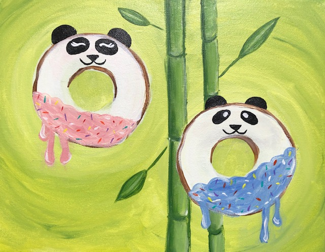 Special Event 'Sweet Panda Donuts'