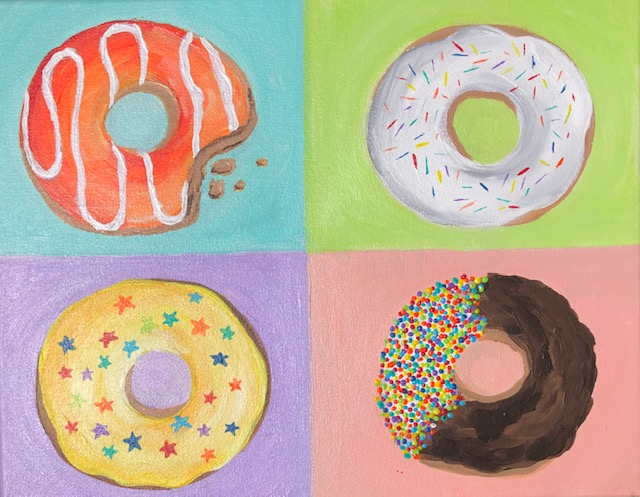 'Donut Party' (Online)