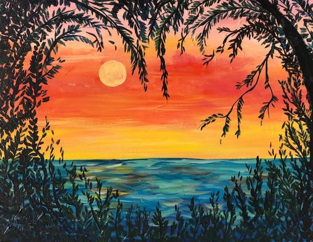 'Love at Sunset'