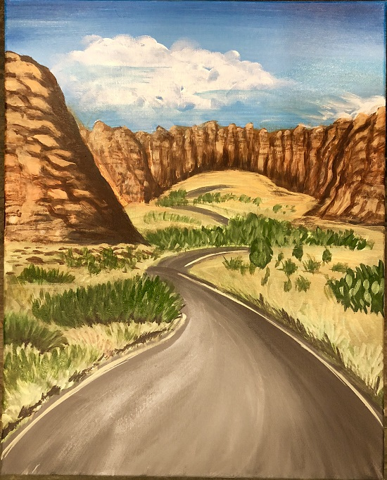 Painting & Brews - 'Let's Go on the Road Trip'