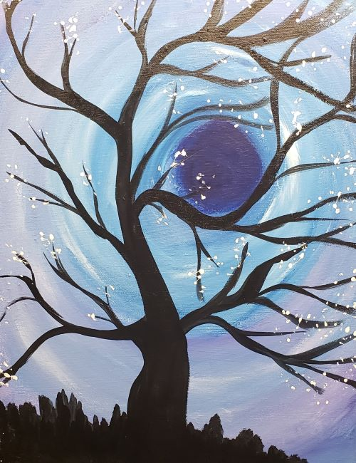 Live Online - Moonlight tree
