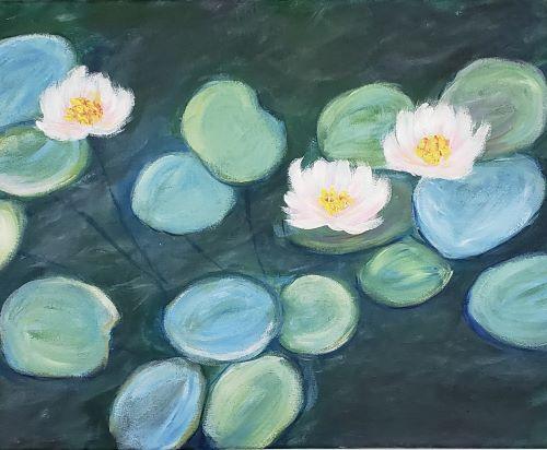 Live Online - Monet's Water Lilies