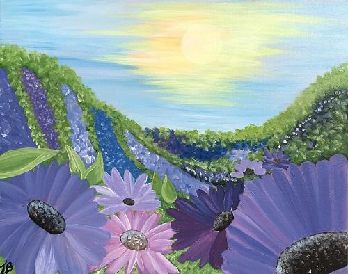 'Pasture of Purple Flowers'