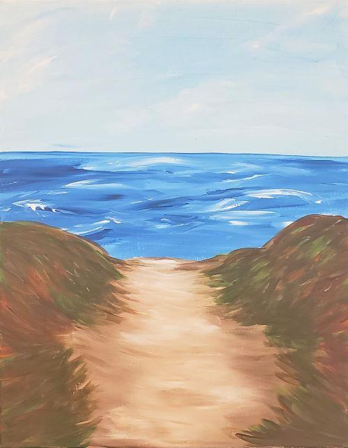 Beach Path 1 - KB