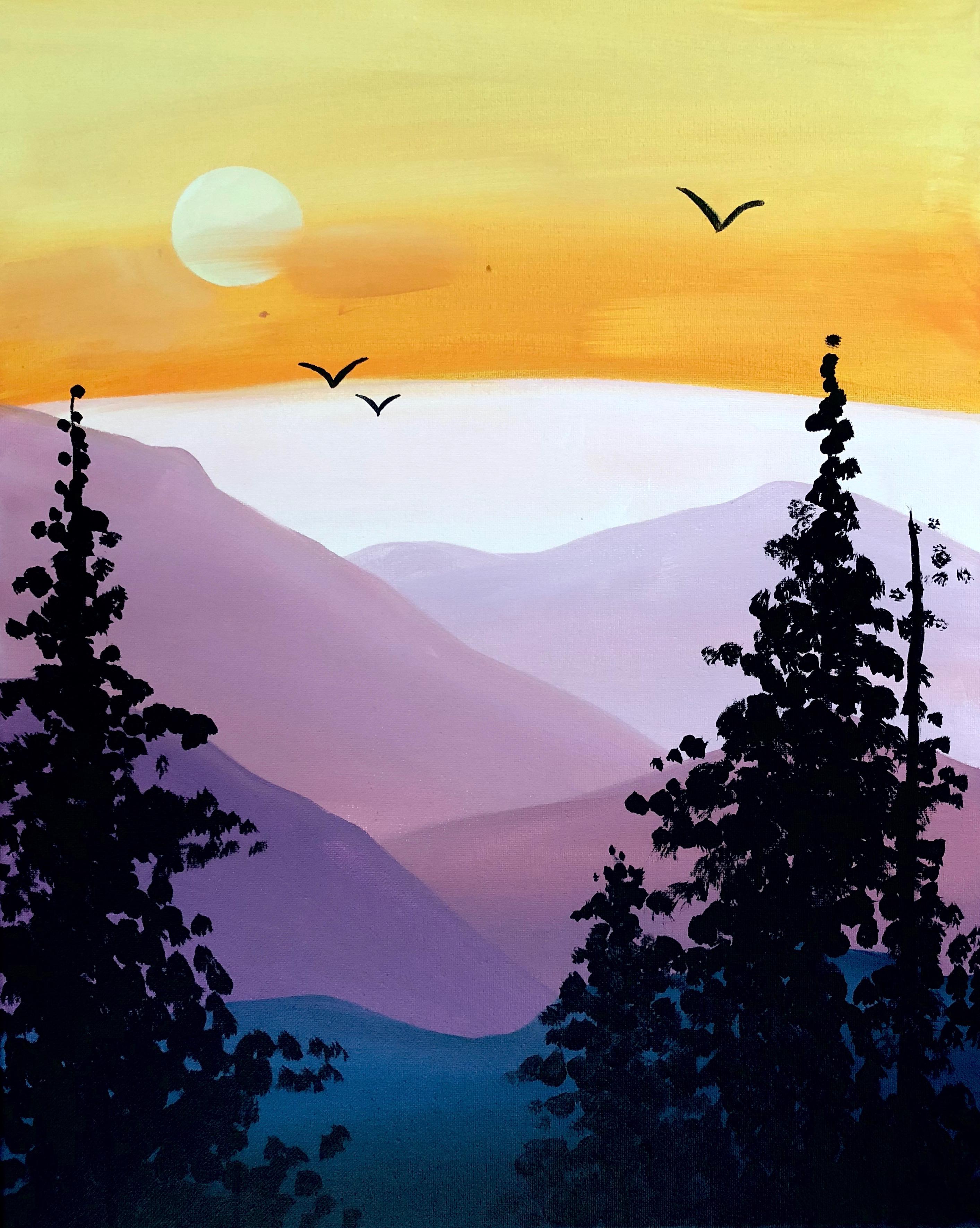 'Purple Mountain Majesty'