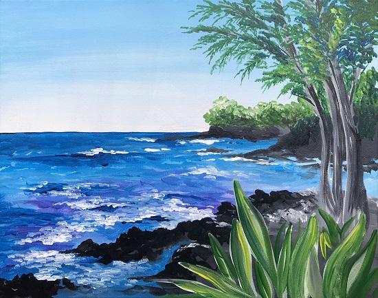 'Hawaii's Lava Coastline'