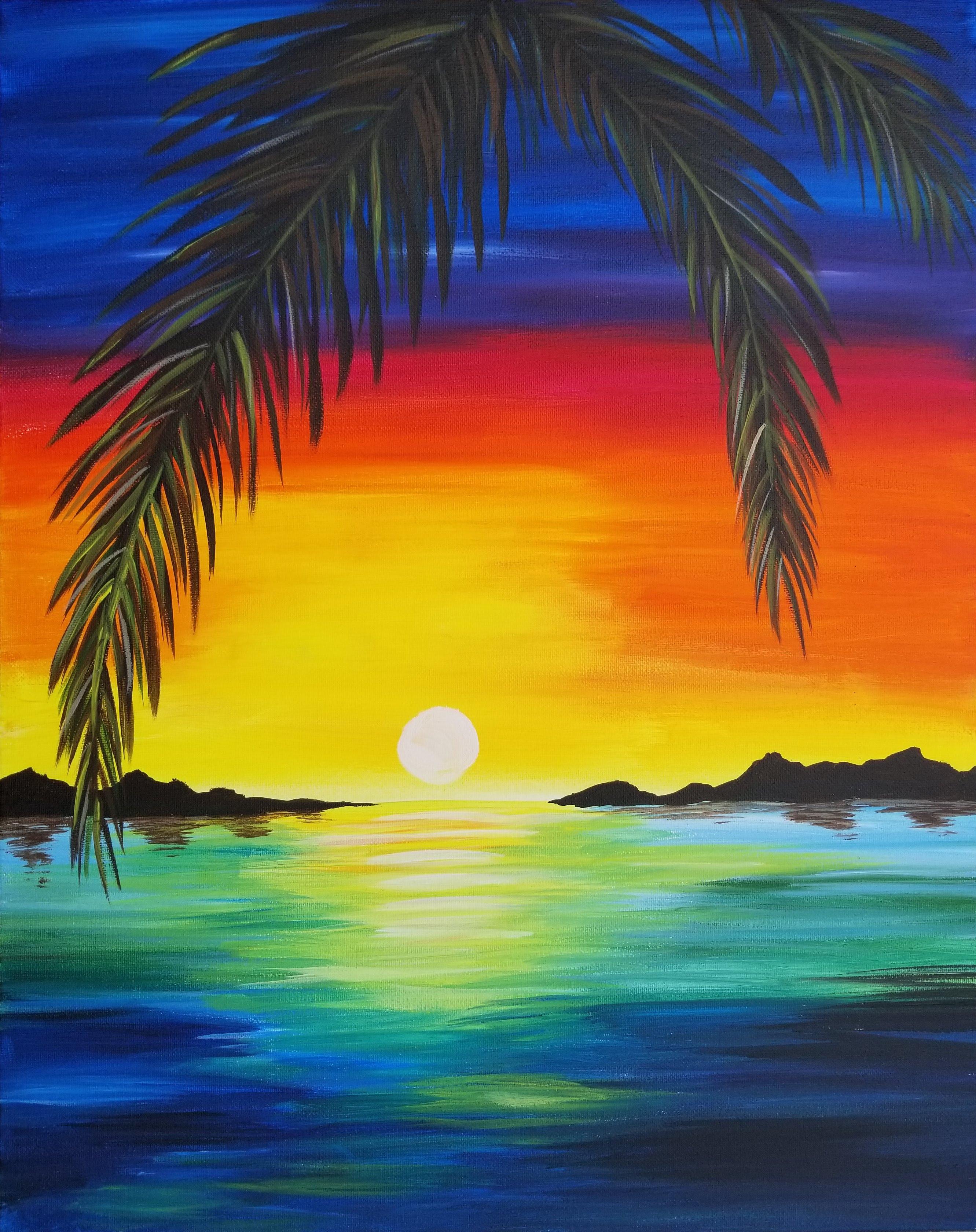 'Rainbow Sunset'
