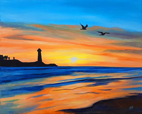 'Sunset Flight'