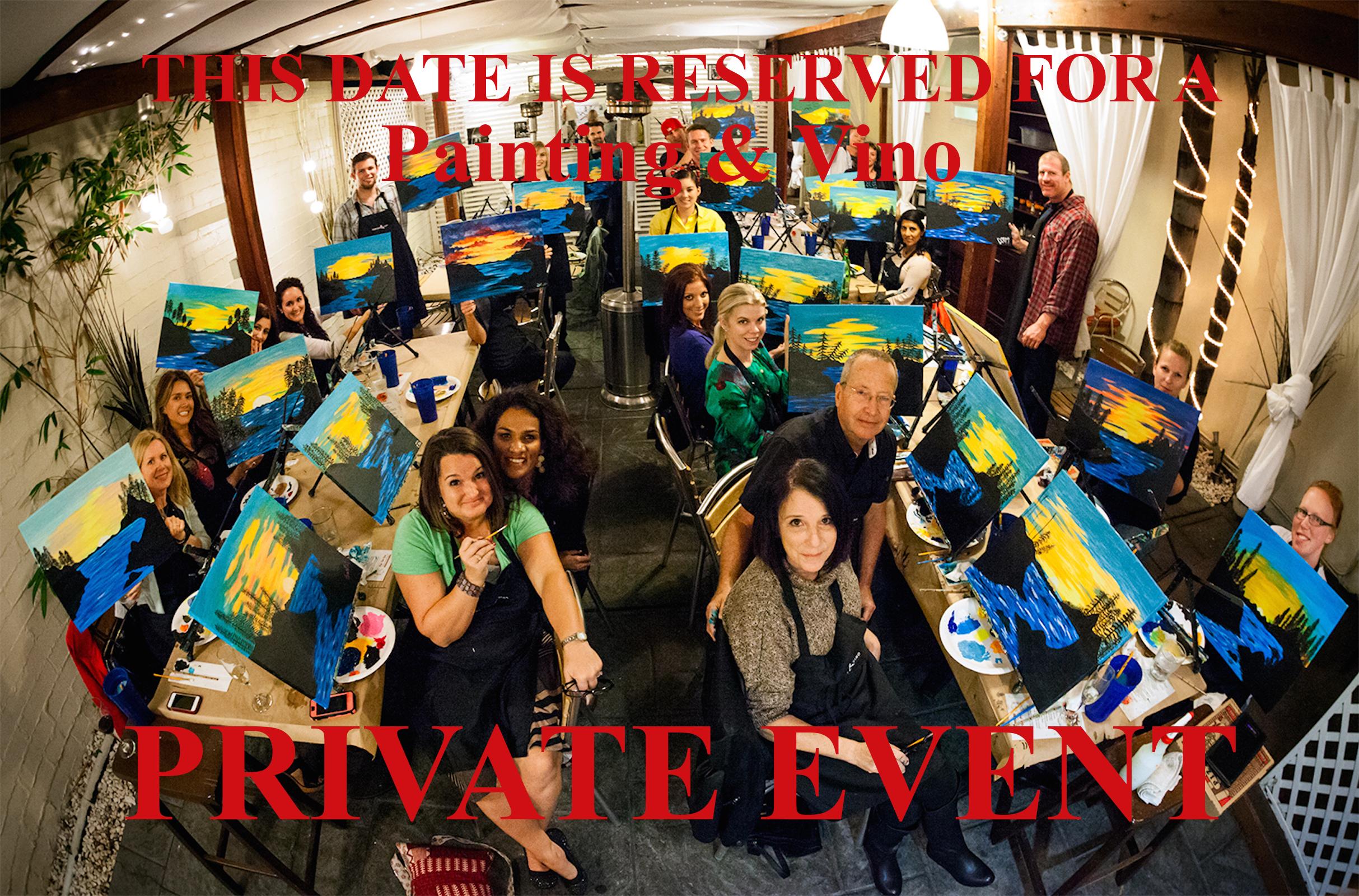 Private Event - Wine Glasses