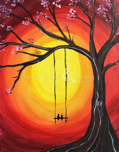 'Lovebirds on a Swing' - Live Online Event
