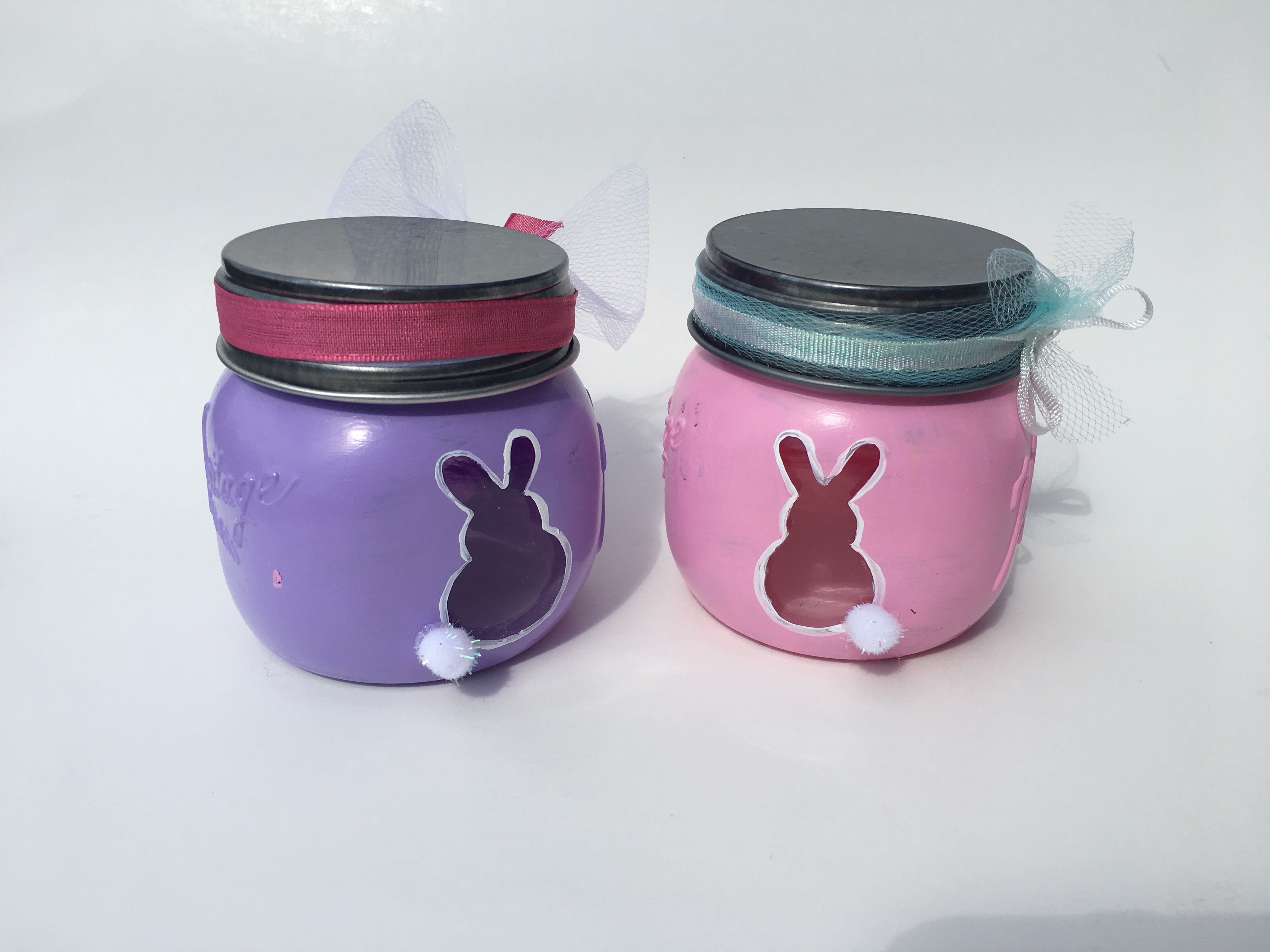 Bunny Candle Holders
