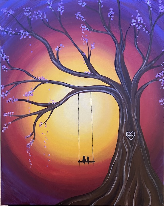 Lovebirds on a Swing - Live Online Event