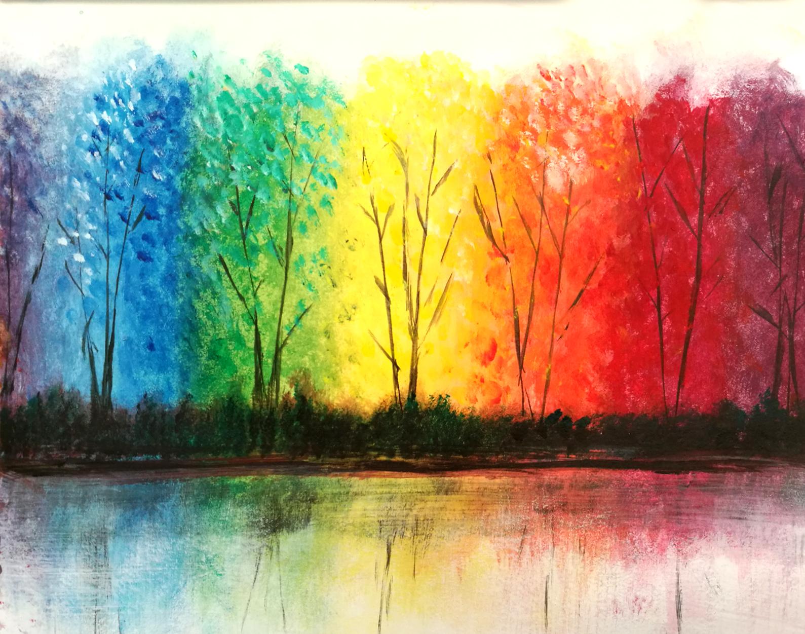 'Rainbow Trees'