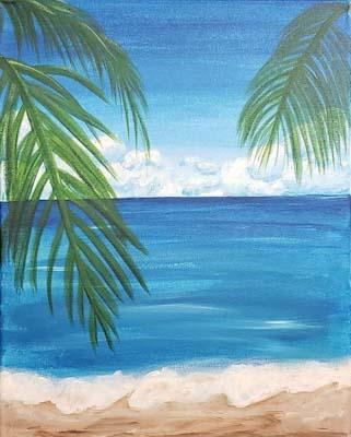Live Online - Palm Tree Beach