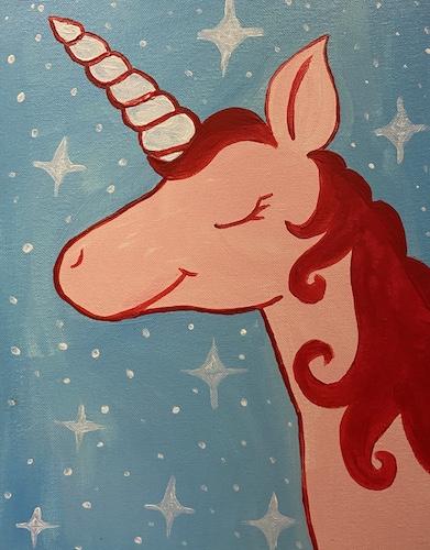 Painting & Kiddos 'Unicorn' - Live Online Event