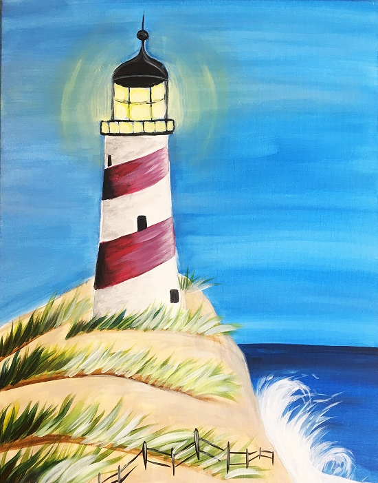 'Beaming Lighthouse'