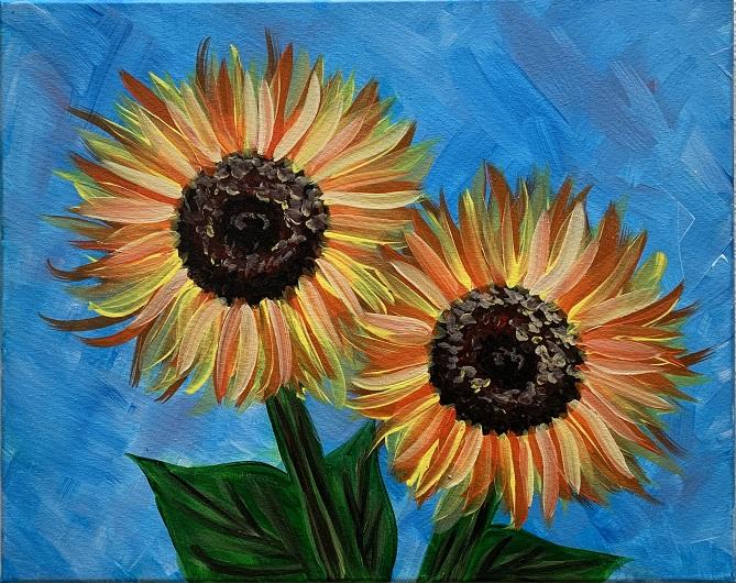 'Happy Sunflowers'
