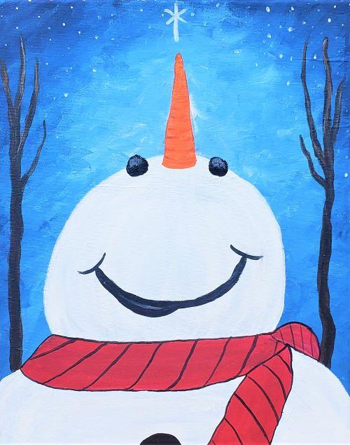Happy Snowman - Live online event
