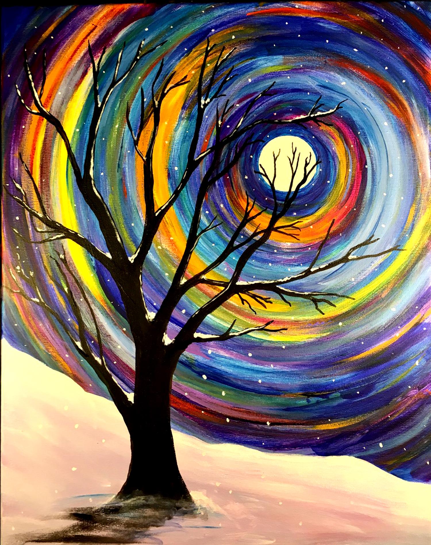 Swirl Tree Outdoors with Erin