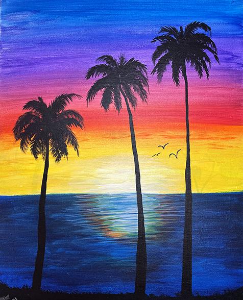 ''Sunset Reflection