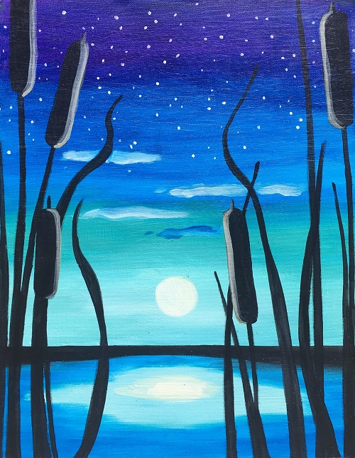 'Star Gazing at the Creek'