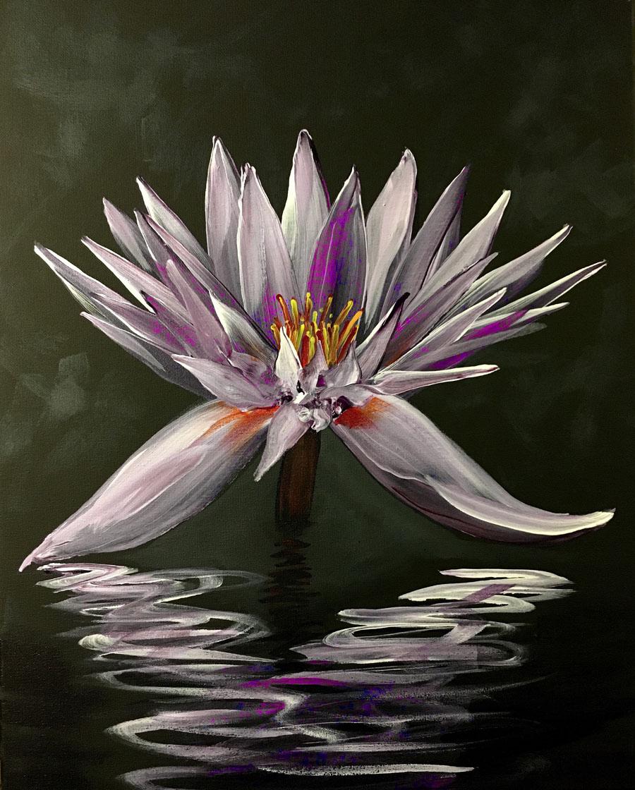 Lotus on Black