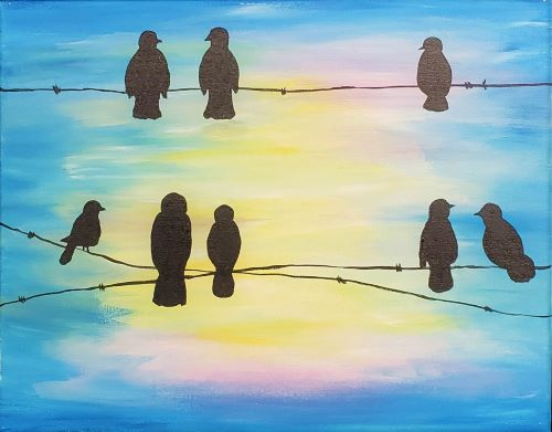 Birds on a wire KB