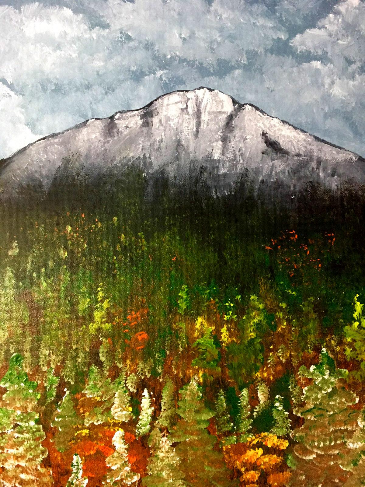 Fall Mountain with Erin