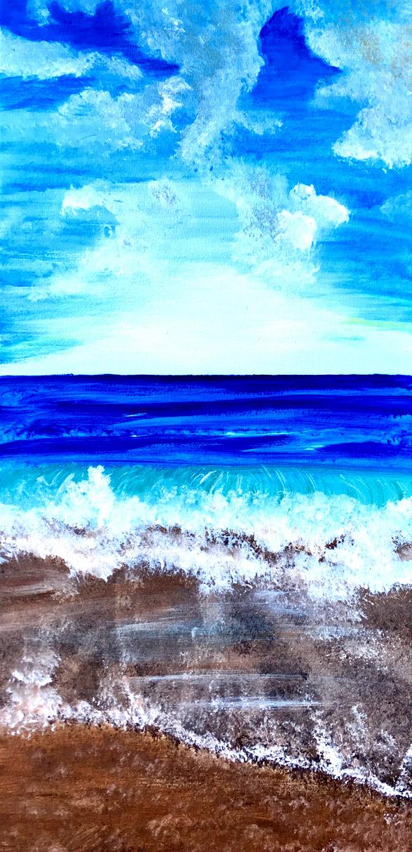 10x20 canvas Beach Life