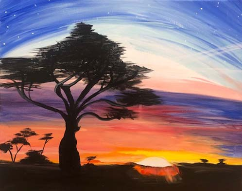 Painting & Brews - 'Painting Trees'