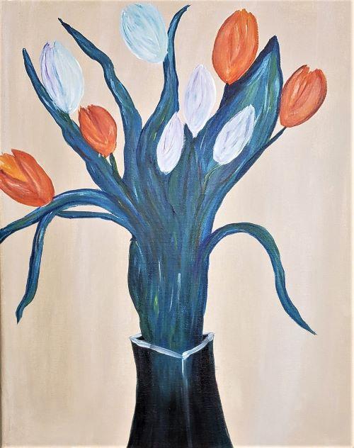 Live Online - Monet's Tulips