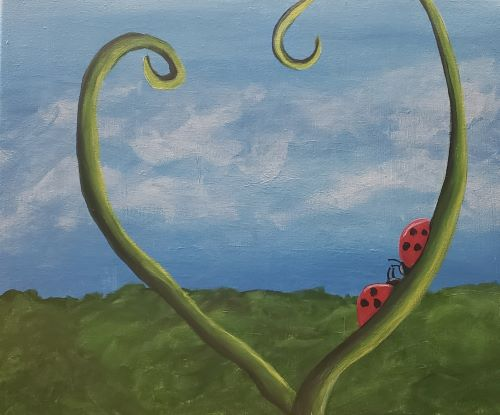 Lady Bugs! - Kiddos Painting Event!