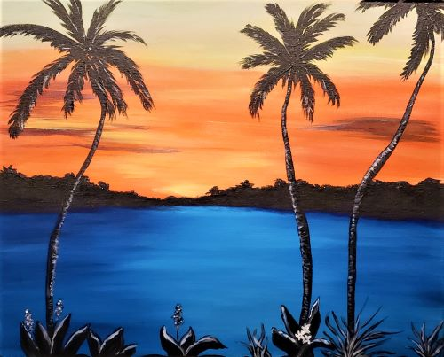 Island Sunset - Live Online Event