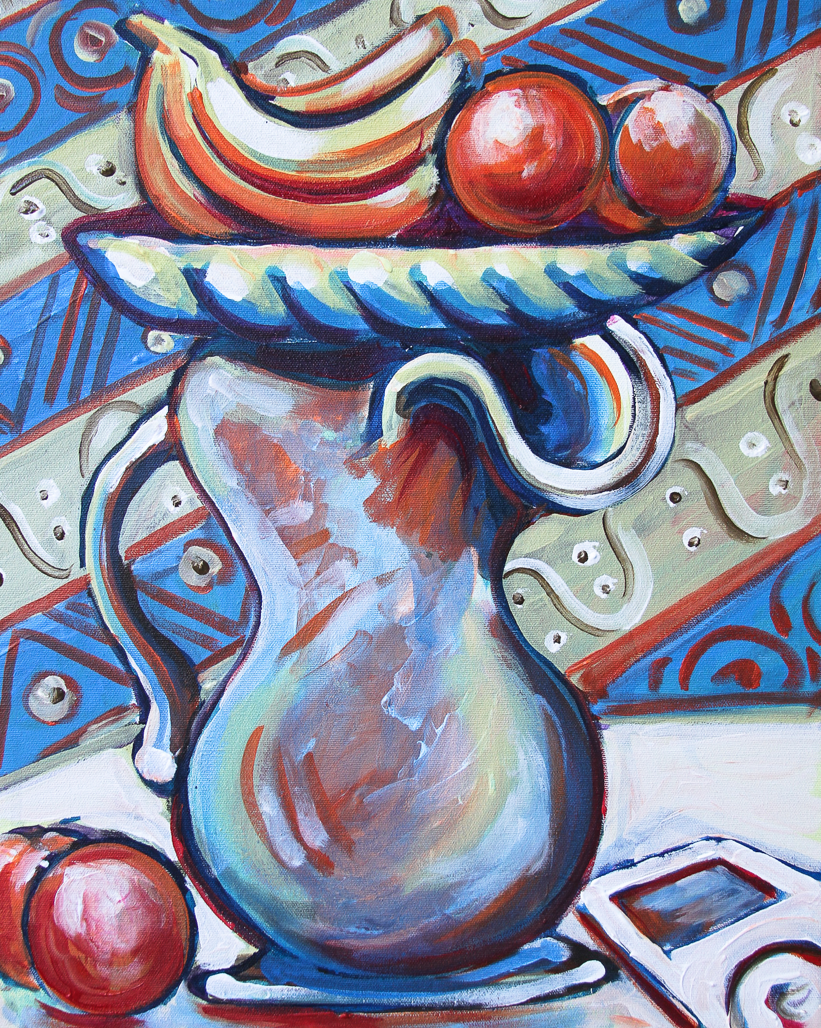 'Picasso's Fruit Bowl and Pitcher'