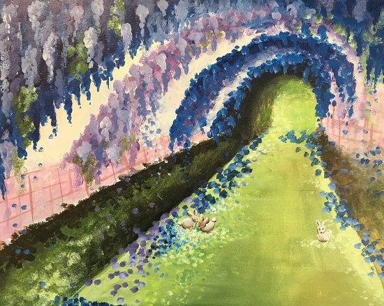 'Wisteria Tunnel'