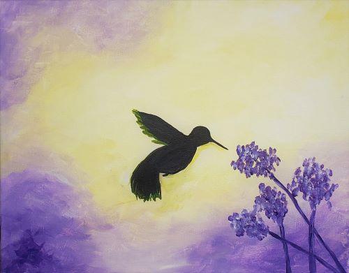 Humming Bird at Carmichael Park