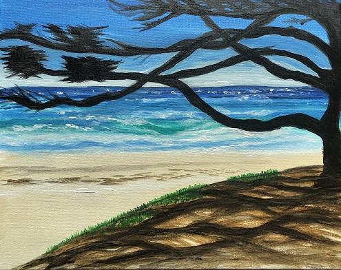 'Carmel Beach, CA'