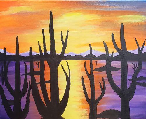 Live Online - Desert Cacti