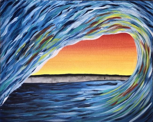'Sunset Wave' - REPLAY