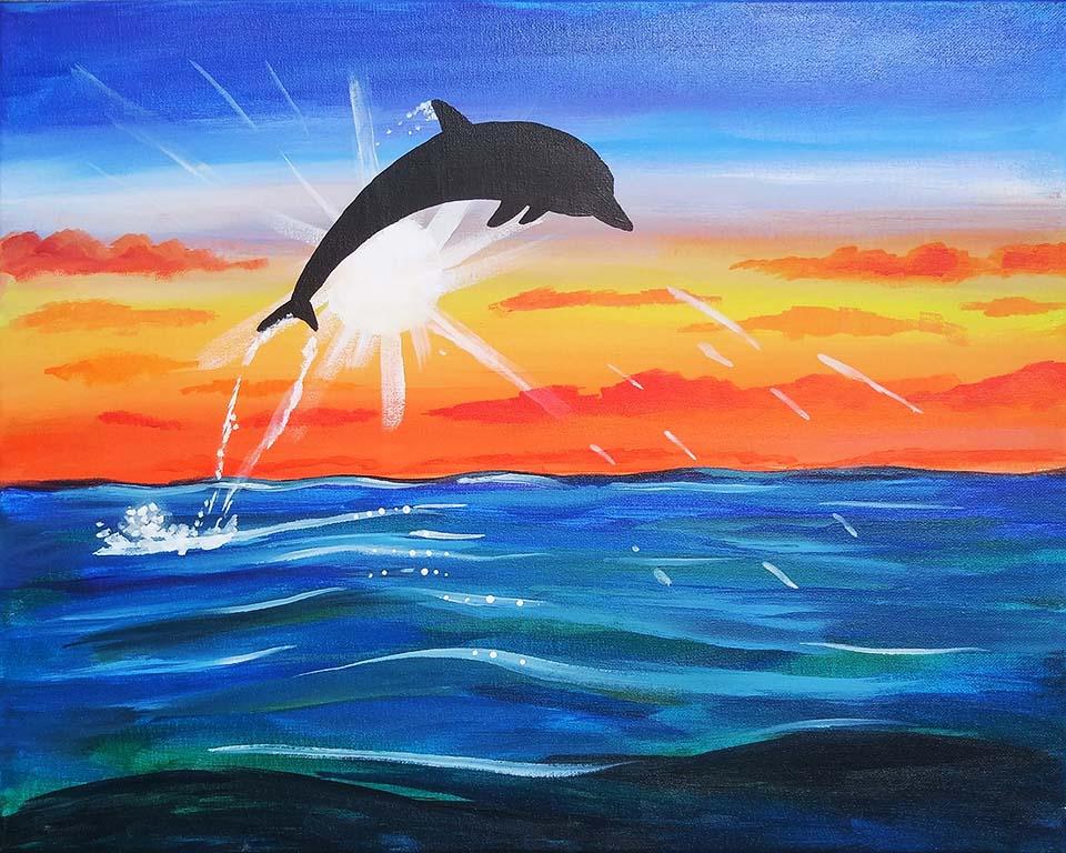 Sunburst Dolphin