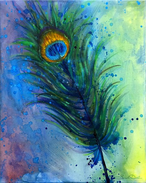 'Peacock Feather, Cairo'