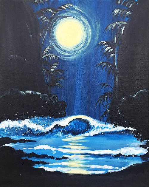 'Moonlit Sea'