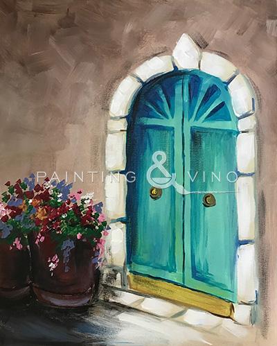 'Las Puertas Azules'
