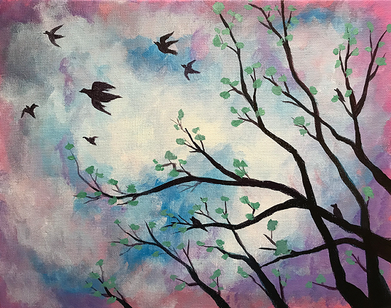 'Flying Birds'