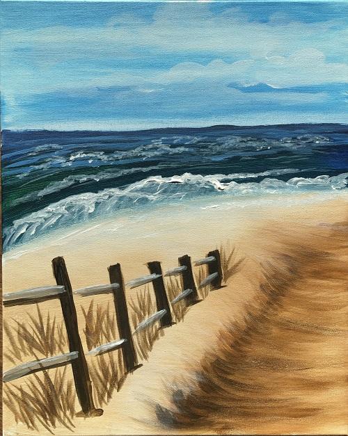 'Fence on the Beach'